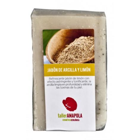 Jabón de Arcilla y Limón - Amapola Biocosmetics - 100gr