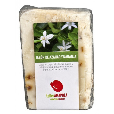 Jabón de Azahar y Naranja-Amapola Biocosmetics - 100gr