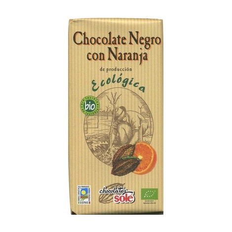 Chocolate naranja 56% ECO -Solé- 100g