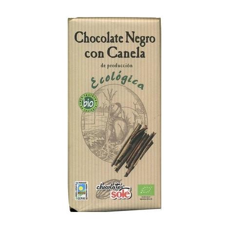 Chocolate negro canela ECO- Solé- 100g