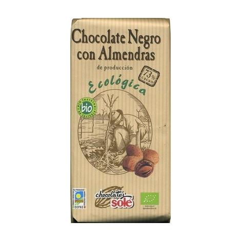 Chocolate negro 73% almendra ECO- Solé- 150g