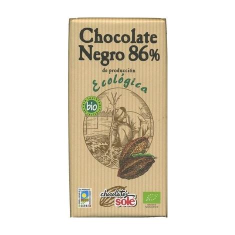 Chocolate negro 86% ECO- Solé- 100g