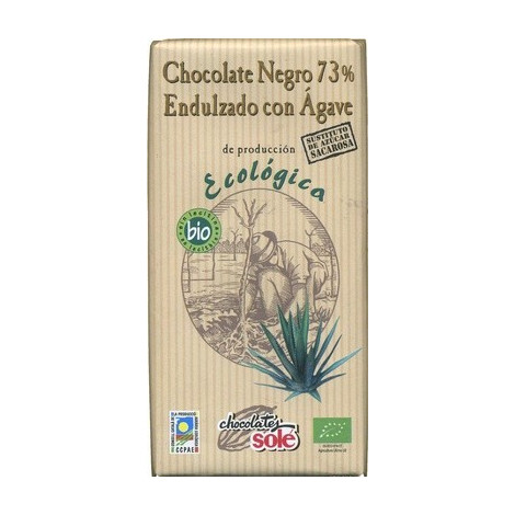 Chocolate negro 73% agave ECO- Solé -100g