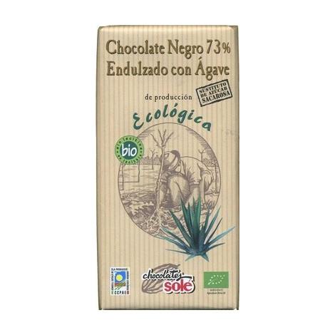 Chocolate Negro 73% Endulzado con Agave- Solé -100g