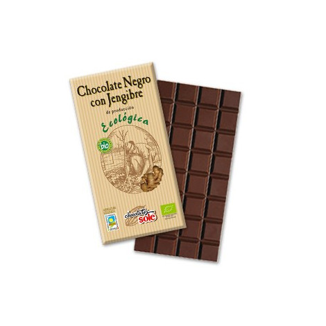 Chocolate jengibre ECO 100g- Sole
