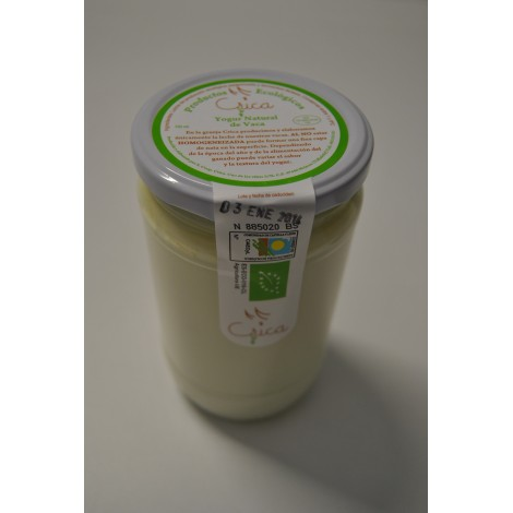 Yogur natural de vaca, 770 gr