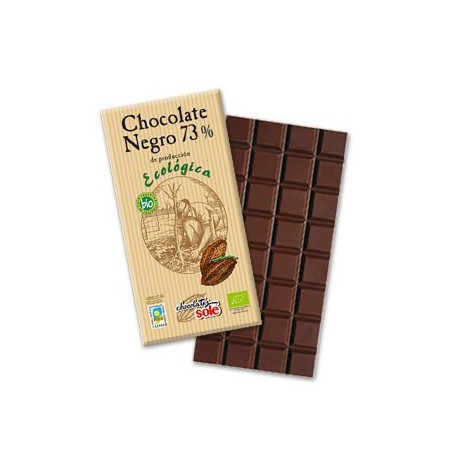 Chocolate negro 73% ECO 100gr- Solé