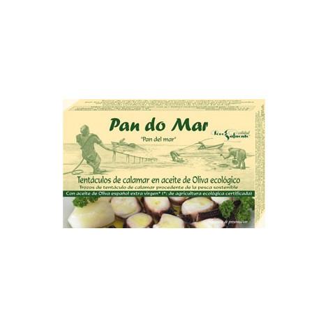 Tentáculos de calamar en aceite de oliva Pandomar- 120 gr