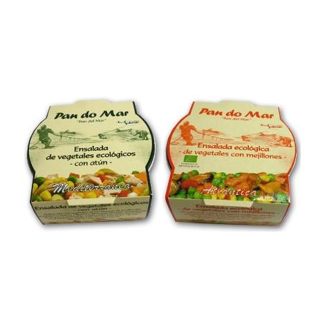 Ensalada de vegetales y mejillones-Pandomar- 250gr