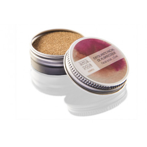 Exfoliante de albaricoque - Amapola Biocosmetics- 15 ml