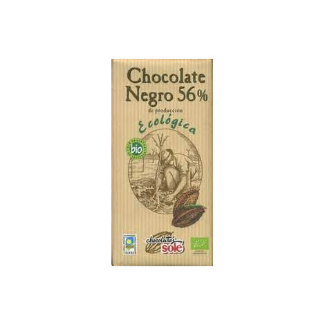 Chocolate Negro 56%- Sole- 100 gr