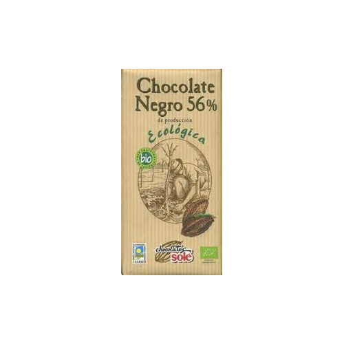 Chocolate negro 56% ECO 100g-Sole
