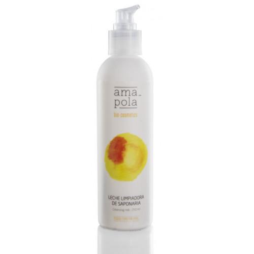 Leche limpiadora de saponaria -Amapola Biocosmetics - 250 ml