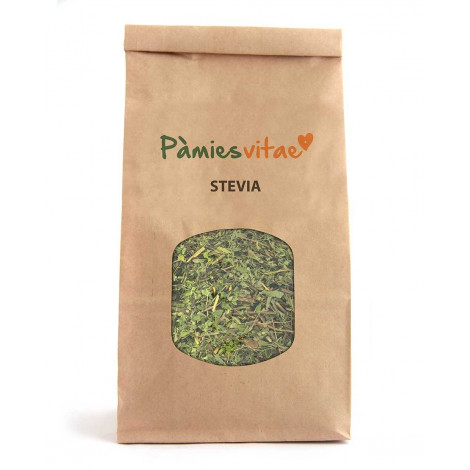 Stevia, planta seca - Pamies Vitae- sobre 120 gramos