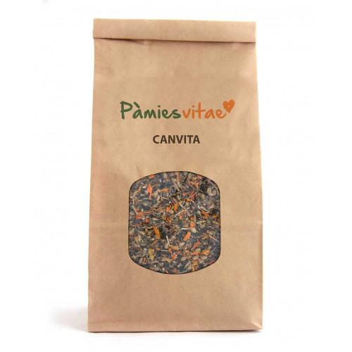 Canvita - mezcla de hierpas para CÁNCER - Pamies vitae - 120 gr
