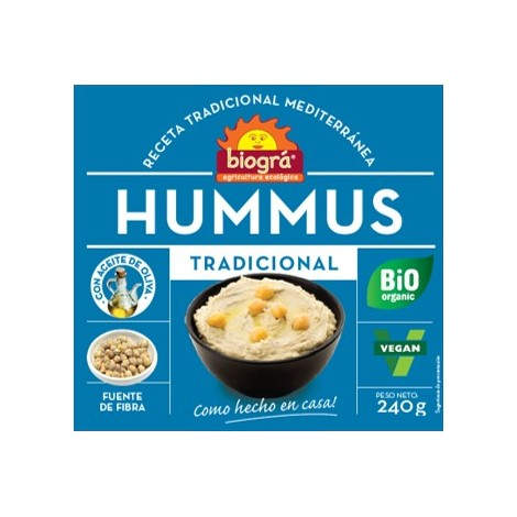 Hummus tradicional-Biográ-240g