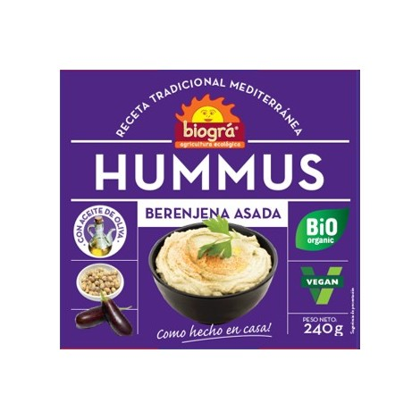 Hummus berenjena-Biográ-240g