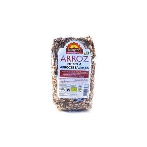 Mezcla de arroces salvajes - Biográ - 400gr