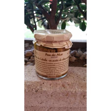 Filete de caballa en aceite de oliva - Pandomar - 220 gr