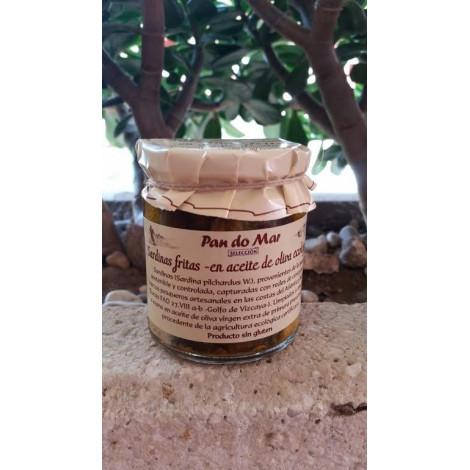 Sardinas fritas en aceite de oliva - Pandomar - 220gr