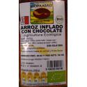 Arroz inflado con chocolate- Bioprasad- 150 gr