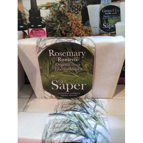 Jabón corporal Romero Rosmery y karité - Saper - 115gr