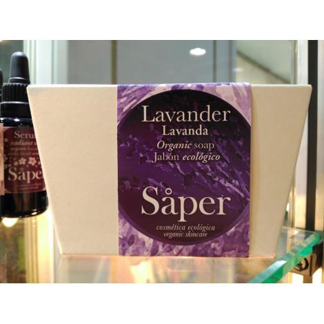 Jabón corporal Lavanda lavander y karité - Saper - 115gr