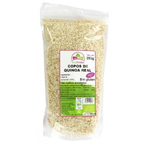 Copos quinoa (sin gluten) - EcoAndes - 250gr