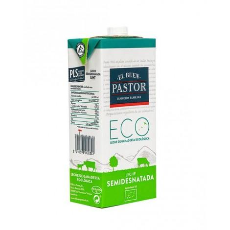 Brick leche UHT Semidesnatada - El Buen Pastor - 1L