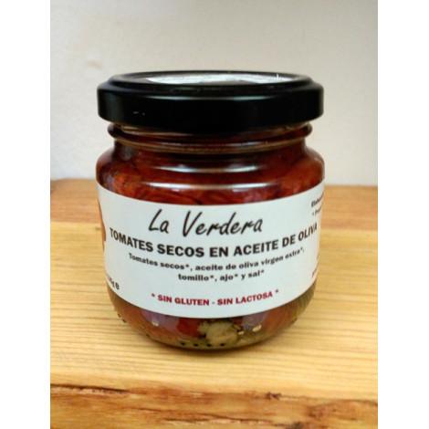Tomates secos en aceite de oliva -La Verdera- 135gr