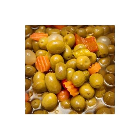 Aceitunas Aliñadas Gazpachas - 225gr- L'Olivateria