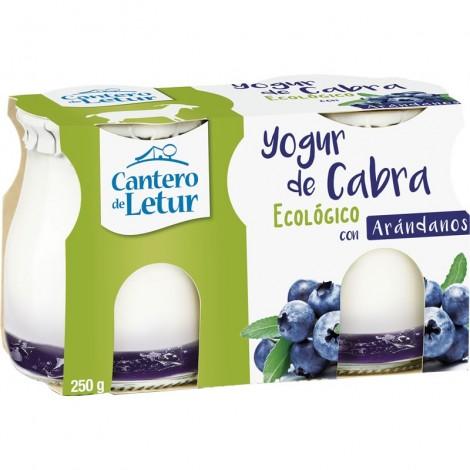 Yogur de Cabra con Arándanos 2x125