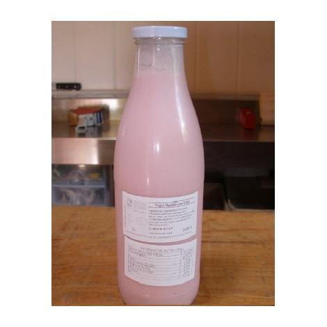 Yogur Líquido fresa-  CRICA-1 litro