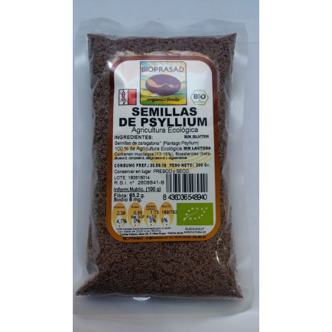 Semillas de Psyllium- Bioprasad- 200 gr