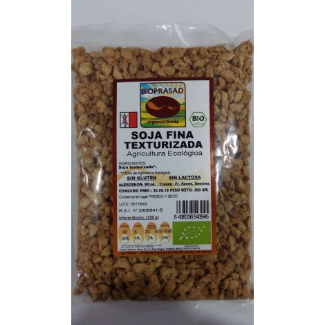 Soja texturizada fina -Bioprasad- 300g