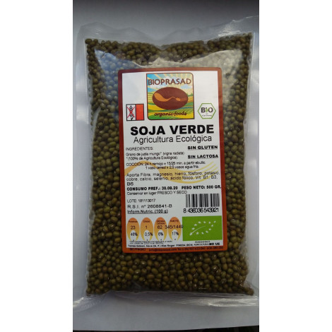 Soja Verde -Bioprasad- 500 gr