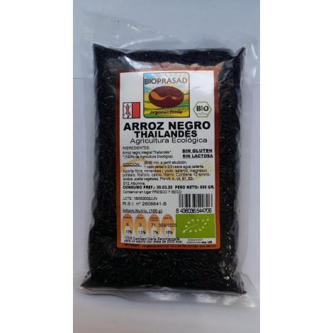 Arroz Negro Tailandés -Bioprasad- 500 gr