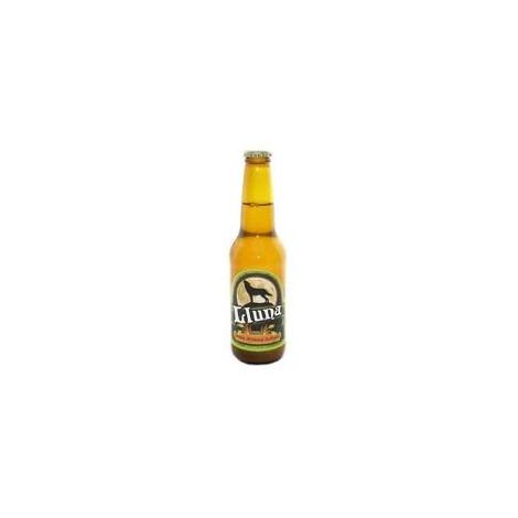 CERVEZA LLUNA (RUBIA) botella 33cl, CERVEZAS LLUNA