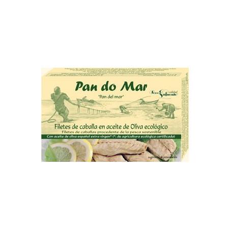 Filetes de caballa en salsa de tomate -PANDOMAR- 120 gr
