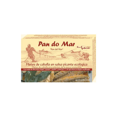Filetes de caballa en salsa de mostaza Dijon -PANDOMAR- 120 gr