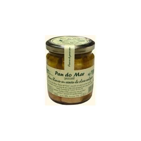 Lomitos de bonito (atun blanco) en aceite de oliva -PANDOMAR- 220 gr