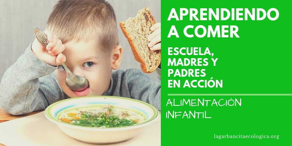 aprendiendo a comer alimentacion infantil cooperacion entre escuela madres y padres