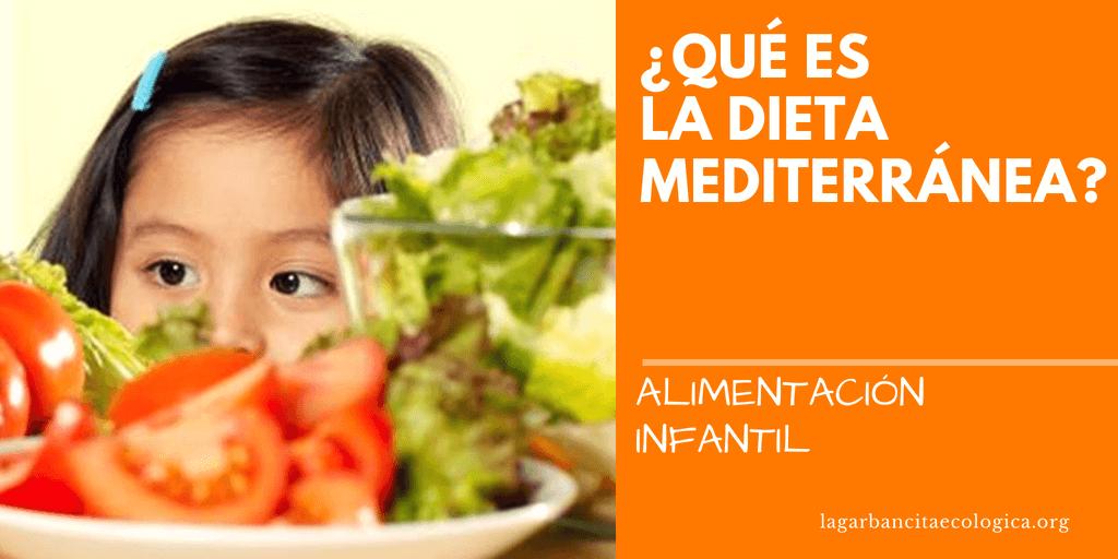 Que es una dieta mediterranea